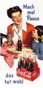 Vintage Coca Cola Advertising Poster c.1955